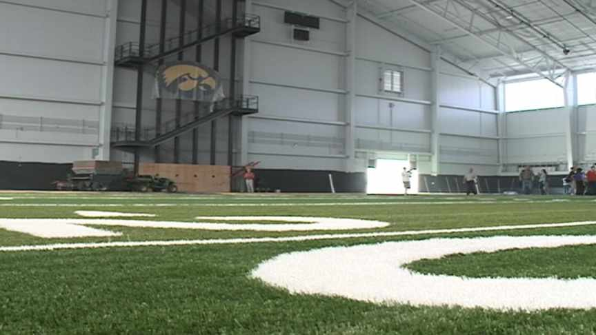 A look inside Iowa's new practice $55 million practice facility.