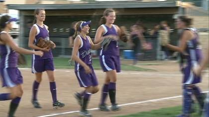 MOC-FV blanked OA-BCIG, 5-0, in regional softball play on Friday.