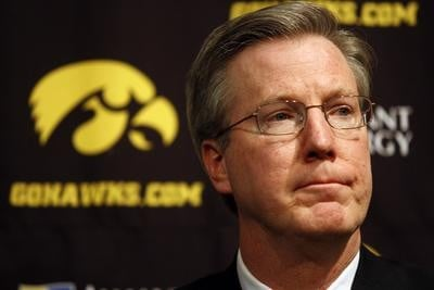 Iowa coach Fran McCaffery has signed a new seven-year deal to remain with the Hawkeyes.