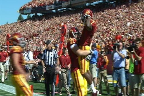 Iowa State has been picked to finish 8th in the Big 12 football race this season.