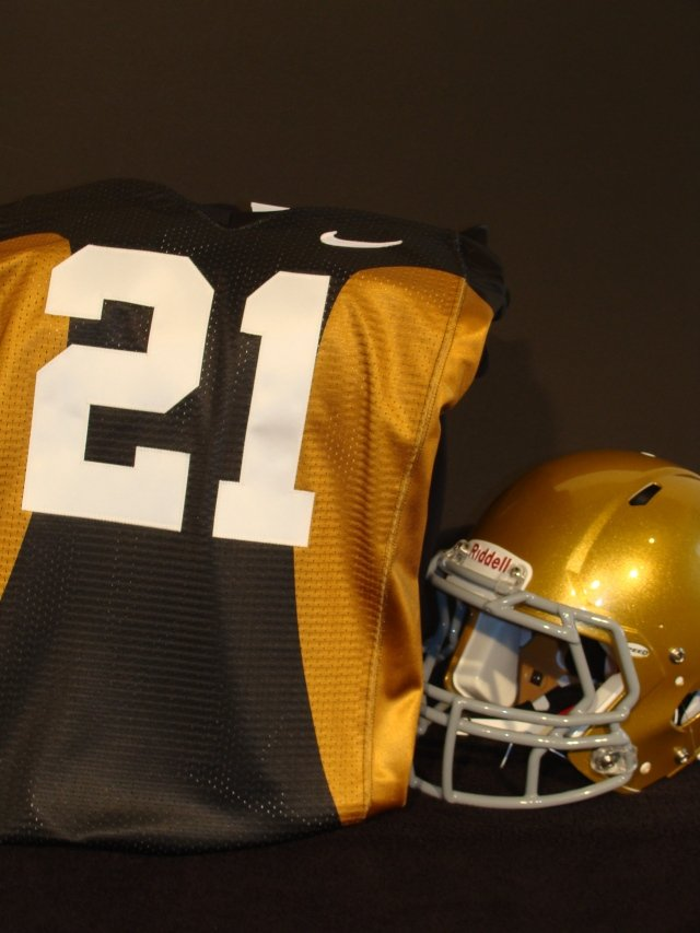 The Iowa football team will wear 1921-22 throwback uniforms when they host Iowa State on September 8th.