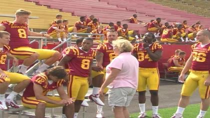 Optimism was high at media day Thursday for the Iowa State football team.