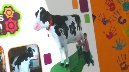 New Children's Museum of Siouxland exhibit will teach kids more about the food process.