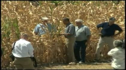 President Obama sees drought damage near Missouri Valley, Iowa on Monday.