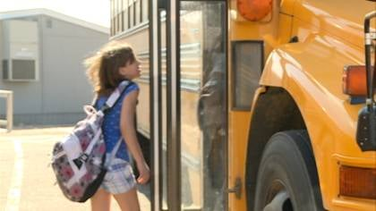 A new school bus safety law inflicts stricter penalties on drivers who pass a school bus with the stop arm extended or fail to slow down when amber lights are flashing.