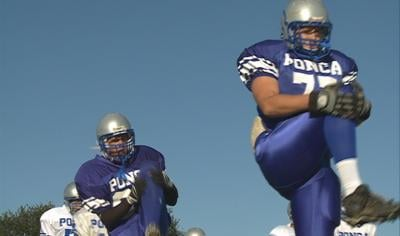 The Ponca football team hopes to use some new lights and a new field to gain new success.