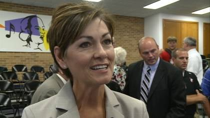 Lt. Gov. Kim Reynolds talks about new role after being named Secretary of the GOP National Convention.