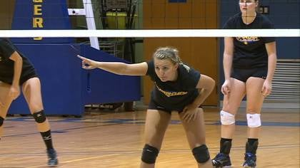 Briar Cliff junior Erin Frank was a second-team all-conference pick last season.