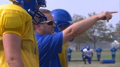 Briar Cliff head coach Tom Rethman says the offensive line has to improve this season.