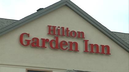 Exterior of Sioux City's Hilton Garden Inn.
