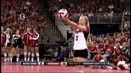 Nebraska has only dropped two sets this season.
