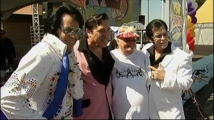 """The Magic of Elvis"" was the theme of the 13th annual Elvis Festival in Costa Mesa, California over the weekend."