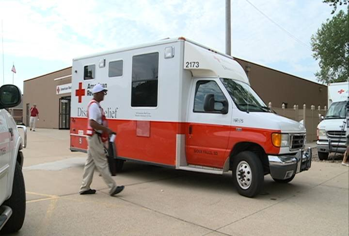 Responders are driving an Emergency Response Vehicle to Baton Rouge, Louisiana.