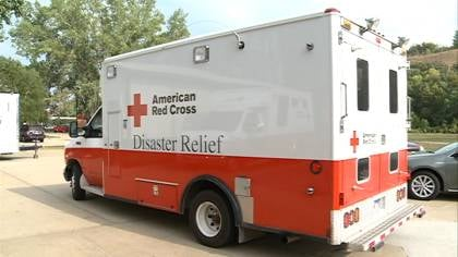Over the years, he's become certified to drive an Emergency Response Vehicles, as well as setting-up shelters which are important to disaster relief efforts.