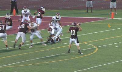 Joel Nixon led Morningside to a 49-7 win over Valley City State on Thursday night.