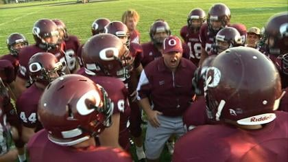 Okoboji High School has a varsity football team back on the field after not having a team in 2011.
