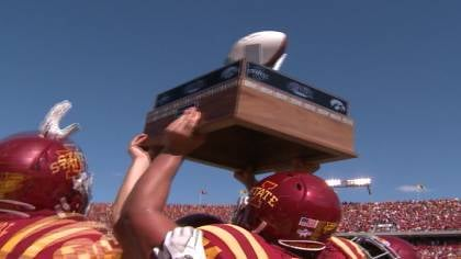 Iowa State beat Iowa, 44-41, in triple overtime last season in Ames.