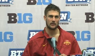 Steele Jantz completed his first 10 pass attempts in ISU's win over Iowa.