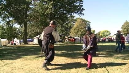 The 9th gathering of the Kingdom of Riverssance will be held at Riverside Park the first weekend in October.