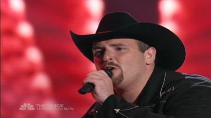Casey Muessigmann sings on NBC's &quot;The Voice&quot; for a chance to move on.