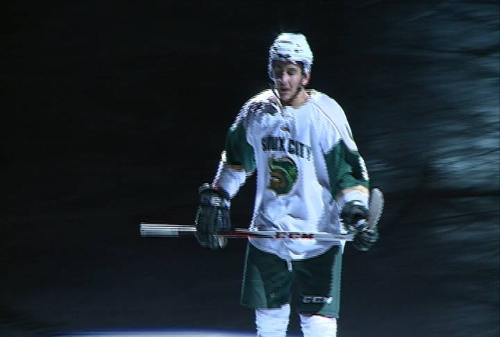 David Goodwin had two goals and an assist in Sioux City's 5-2 win over Sioux Falls on Wednesday.