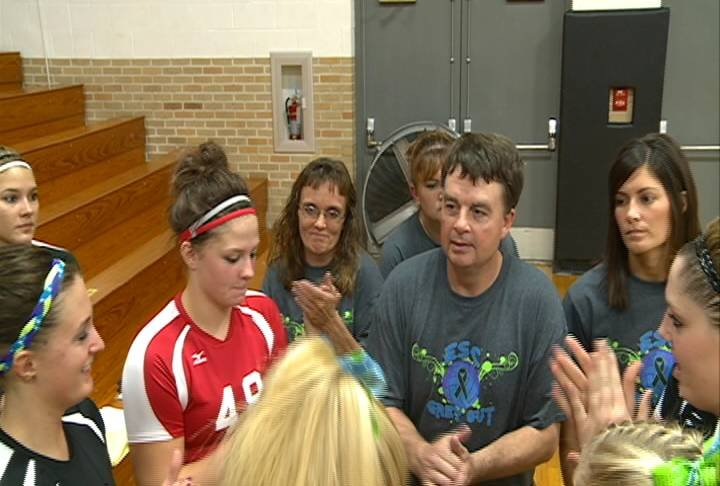 East Sac County volleyball coach Dave Waggie recently celebrated his 500th win.