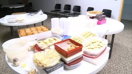 Scandinavian dinner event held to raise money for Morningside Lutheran Church's new kitchen.