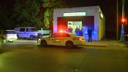 An armed robbery happened around 8:30 p.m. Saturday at the Tobacco Hut.