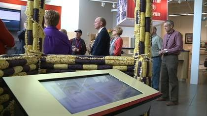 North, south, east, and west, Sioux City's Public Museum drew in people from every direction this week.