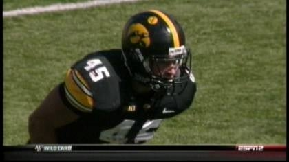 Mark Weisman rushed for 177 yards and a touchdown in Iowa's 31-13 win.