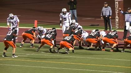 Seventh-ranked Sioux City East beat #9 Urbandale, 27-21, in high school football action on Thursday.