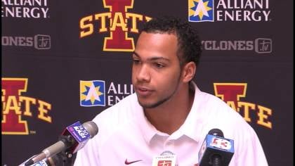 Jared Barnett threw three TD pass in ISU's 37-23 win over TCU.