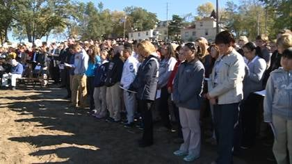 Bishop Heelan breaks ground on new school project.