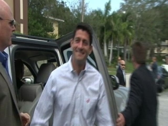 Paul Ryan says he's ready to take on the Vice President.