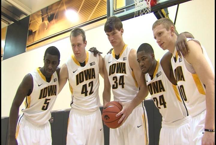 Freshman Adam Woodbury and Mike Gesell headline the best crop of newcomers the Hawkeyes have had in a long time.