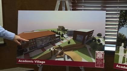 Morningside College unveils fundraising campaign for new academic village.