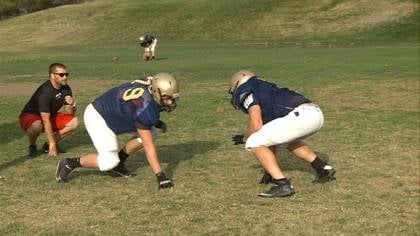 Bishop Heelan seniors Zach Skibinski and Bryce Sweeney are leading a defense that's only giving up 9 points per game.