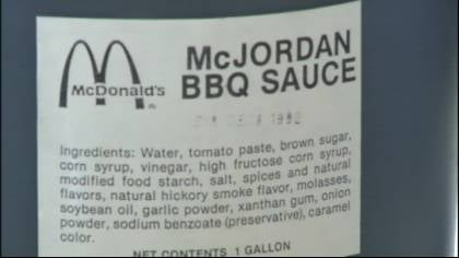 BBQ sauce sells for $10,000 on eBay.