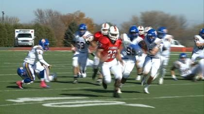 Brandon Smith ran for 247 yards in Saturday's 57-7 win over Briar Cliff.