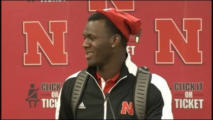 PJ Smith had an interception in Nebraska's win.