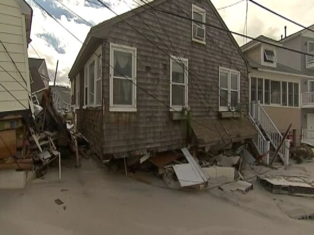 Hundreds of others have been pulled from the flood waters left by Sandy.