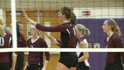Second-ranked Western Christian swept #11 Ridge View in a regional volleyball final on Wednesday.