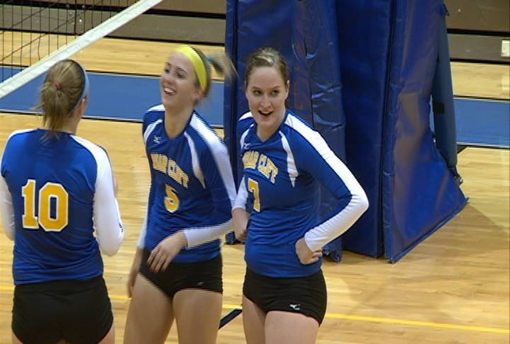 Monica Boeding had 21 kills in Briar Cliff's 3-1 win over Morningside on Thursday.