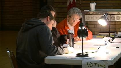 Woodbury County auditor Pat Gill says the county is very close setting a new early voting record.