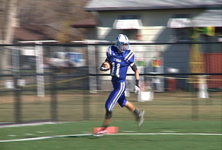 Lutheran High Northeast beat Ponca, 42-14, in a Class C2 playoff game on Tuesday.