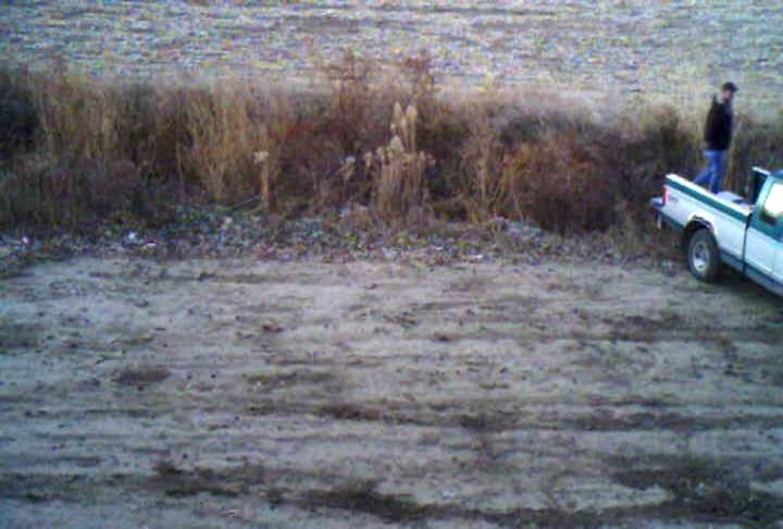 South Sioux City, NE officials catch man on camera dumping deer carcasses along Foundry Road.