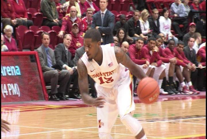 Korey Lucious had 10 points in Iowa State's 98-40 win over Alabama A&M on Monday.