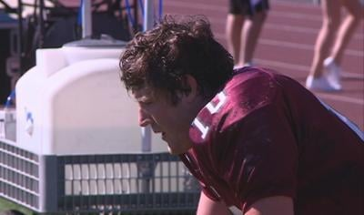 Morningside quarterback Joel Nixon has been named the offensive player of the year in the GPAC.