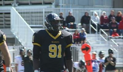 Wayne State's Richard Daniel was voted by league coaches as the NSIC Defensive Player of the Year.