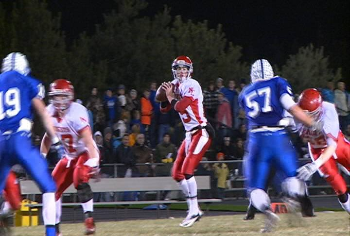 Norfolk Catholic is going to the championship game for the fourth straight year after a 34-14 win over Pierce on Tuesday.